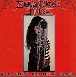 "Slaughtered Priest ""Iron Chains and Metal Blades"" LP"