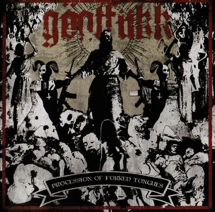 "Goatfukk ""Procession Of Forked Tongues"""