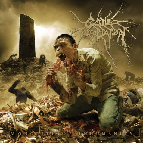 "Cattle Decapitation ""Monolith Of Inhumanity"" CD"
