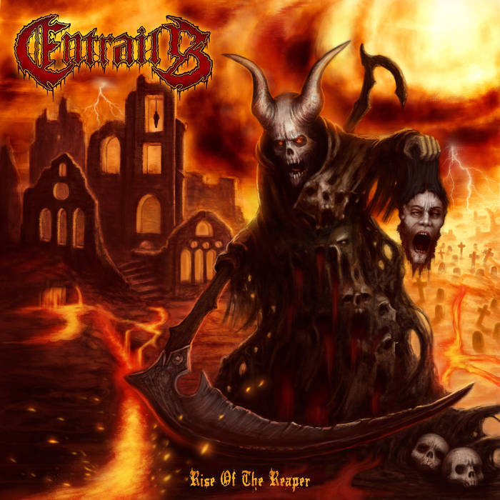 "Entrails ""Rise Of The Reaper"" LP"