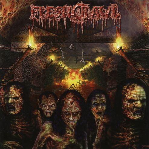"Fleshcrawl ""As Blood Rains From The Sky"""
