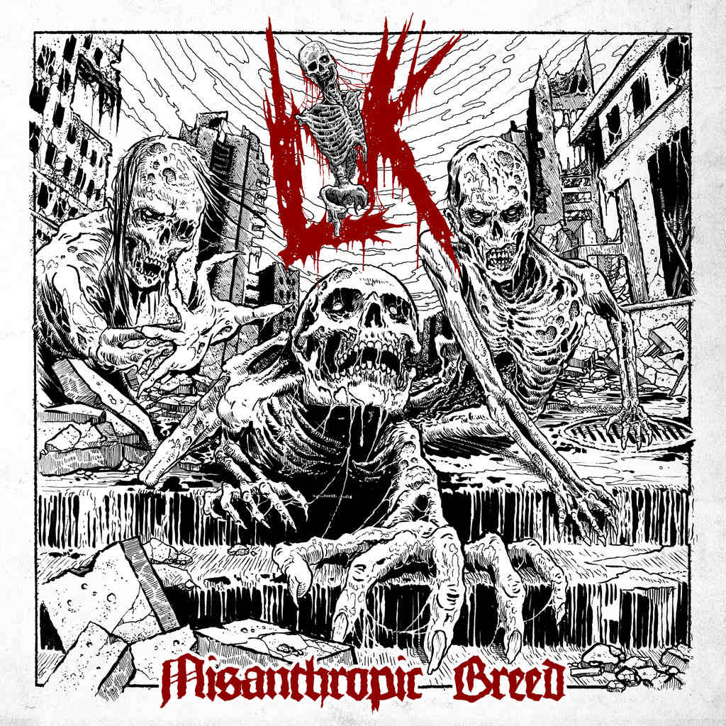 "Lik ""Misanthropic Breed"" CD"