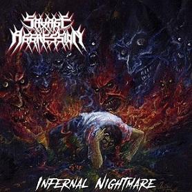 "Savage Aggression ""Infernal Nightmare"" LP"